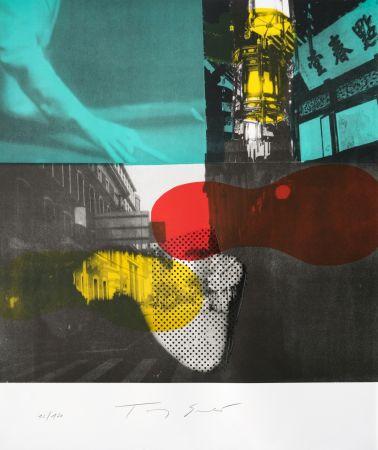 Литография Soulie - Shanghai Nocturne