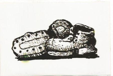 Литография Guston - Shoes