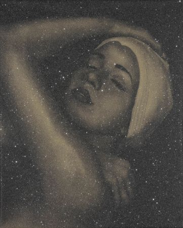 Литография Feuerman - SHOWER PORTRAIT (GOLD)