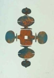 Офорт И Аквитанта Springer - Shrinagar