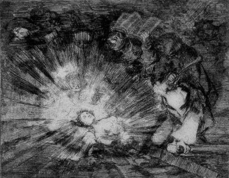 Офорт И Аквитанта Goya - Si resuscitarà
