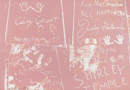 Сериграфия Warhol - Sidewalk (FS II.304)