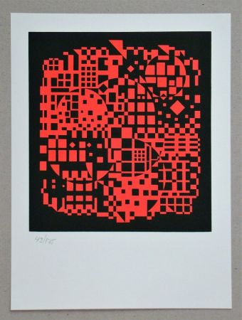 Сериграфия Vasarely - Sikkaso