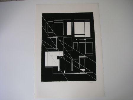 Литография Palazuelo - Sin título