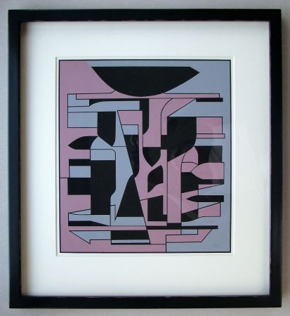 Сериграфия Vasarely - Siris Ii