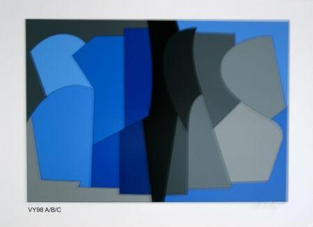 Сериграфия Vasarely - Siris kek
