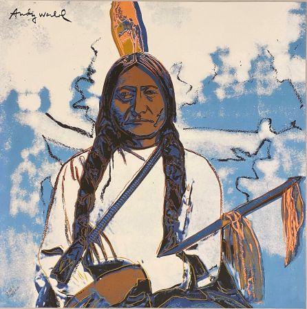 Гашение Warhol - Sitting Bull