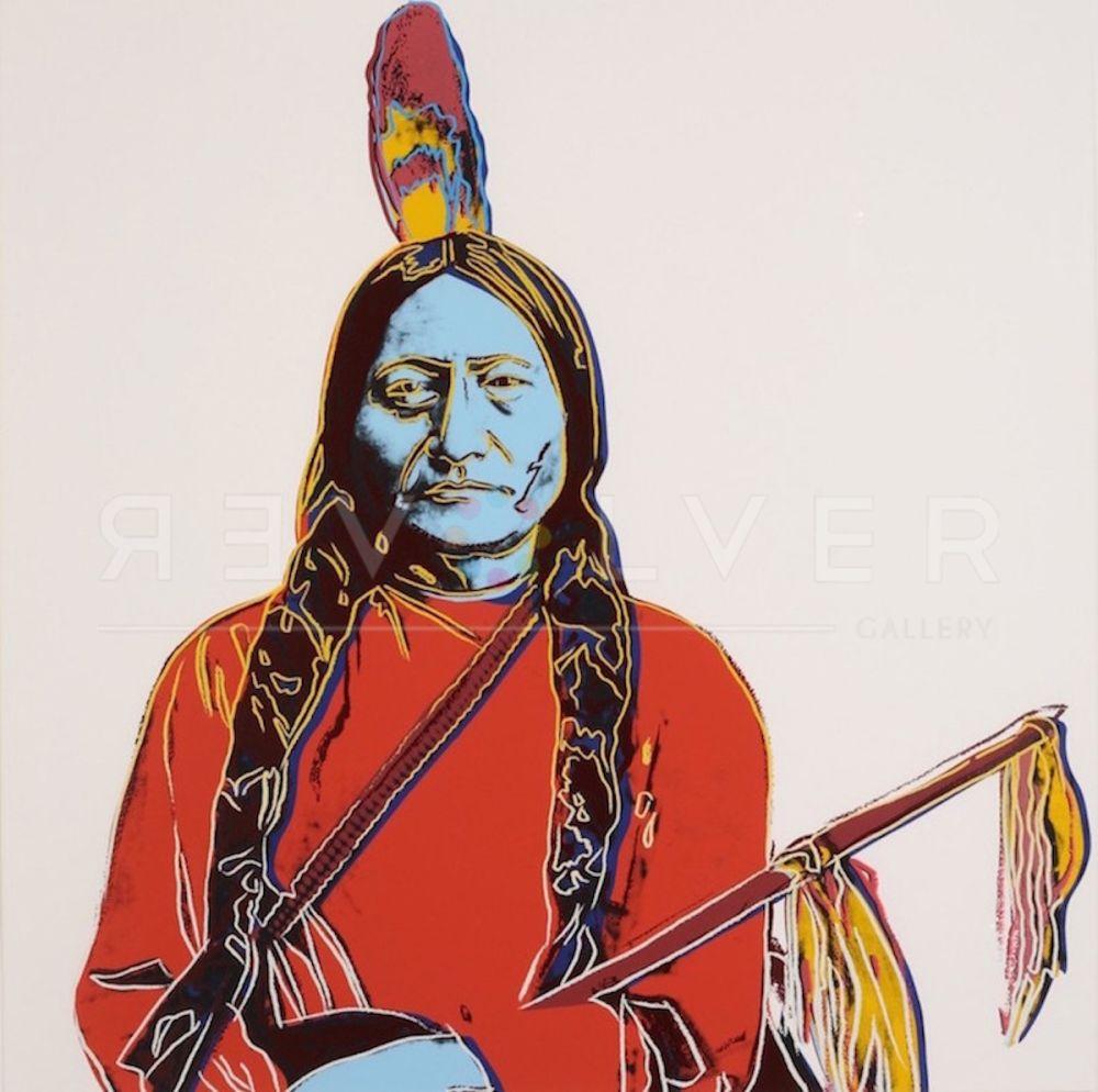 Сериграфия Warhol - Sitting Bull (FS IIA.70)