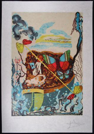 Литография Dali - Six Of Swords