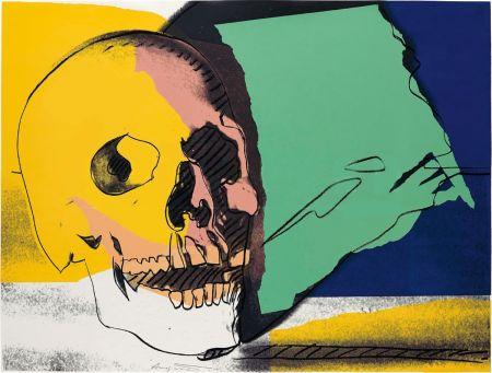 Сериграфия Warhol - Skulls (FS II.158)