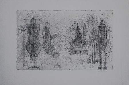 Гравюра Augustin - Skulpturen / Sculptures