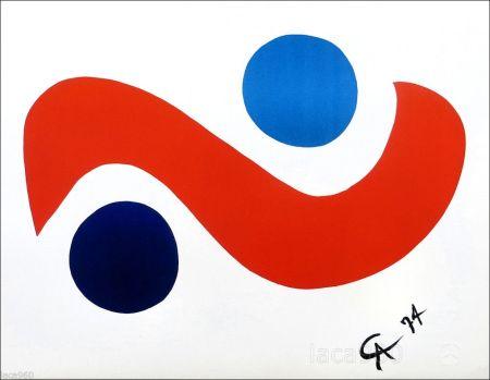 Литография Calder - Skybird
