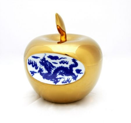Керамика Lihong - Small Apple – gold