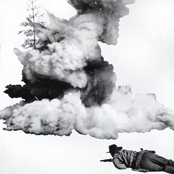Литография Baldessari - Smoke, Tree, Shadow and Person