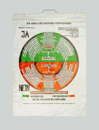 Сериграфия Beuys - So kann die Parteiendiktatur uberwunden werden