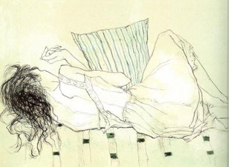 Литография Jansem - Solange du Dos