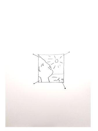 Литография Cocteau - Soleil