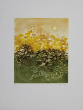Офорт И Аквитанта Walker - Soleil / Sun