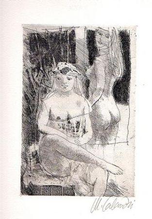 Иллюстрированная Книга Calandri - Sonetti
