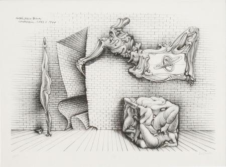Литография Bellmer - Souterrain No. 13