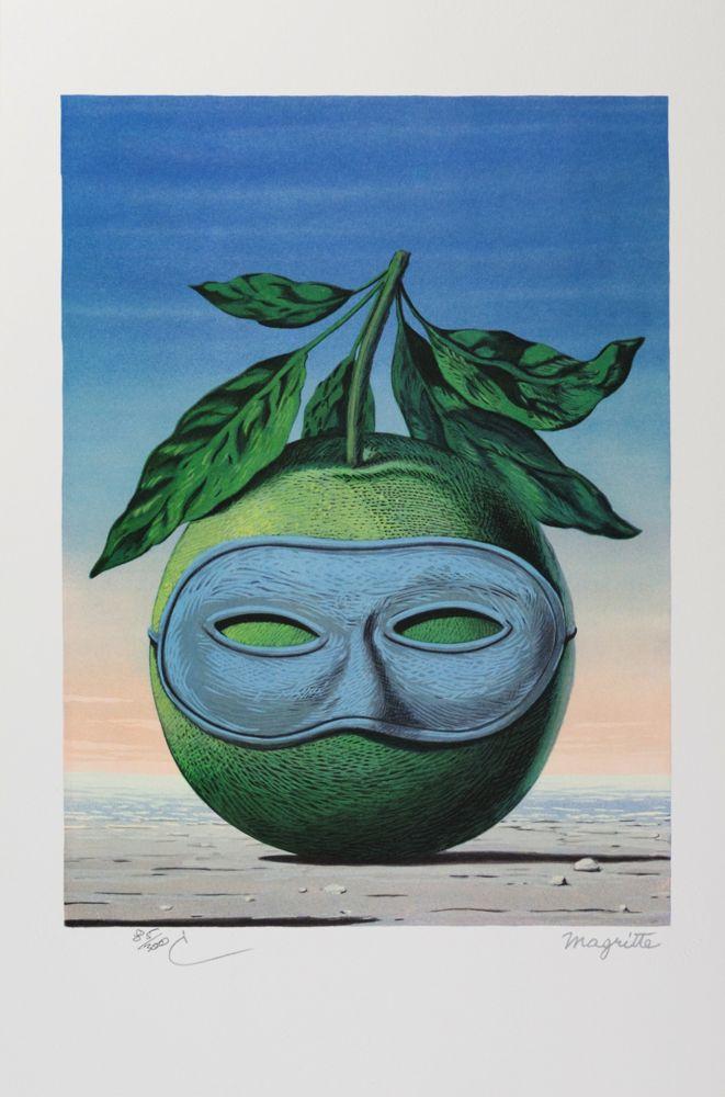 Литография Magritte - Souvenir de Voyage