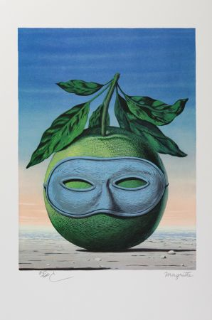 Литография Magritte - Souvenir De Voyage (Memory Of A Voyage)