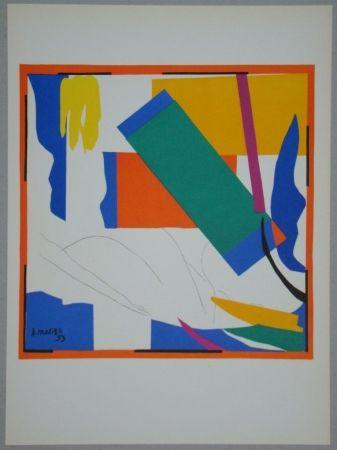 Литография Matisse - Souvenir d'Océanie