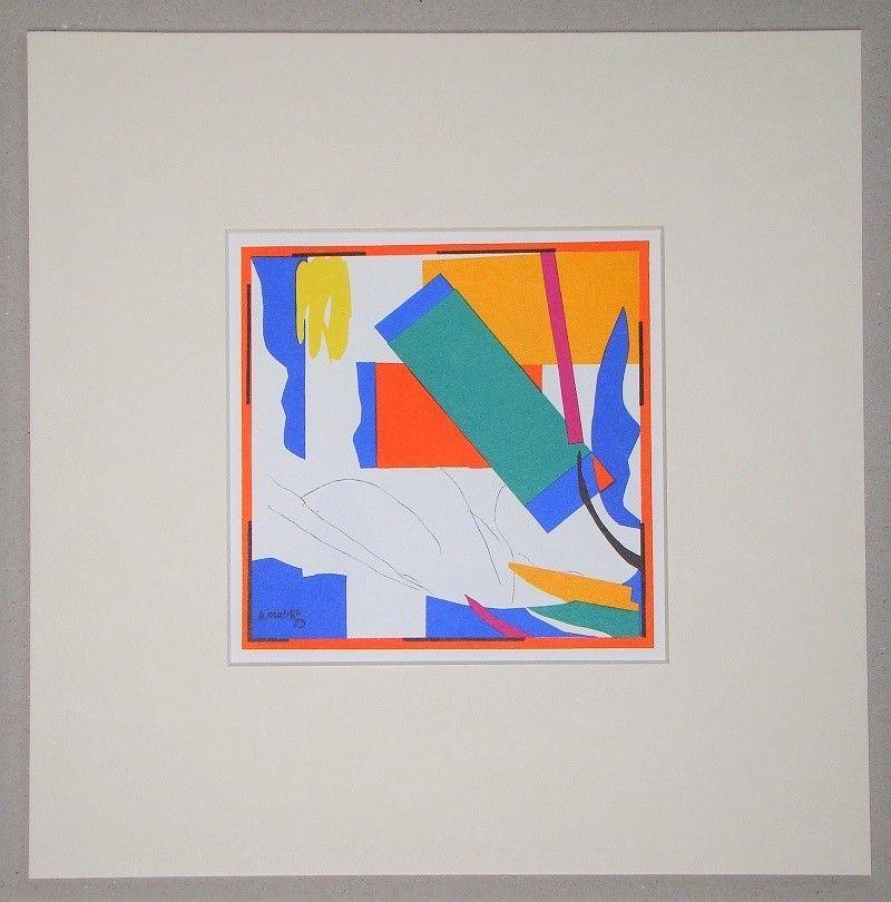 Литография Matisse (After) - Souvenir d'Océanie - 1953