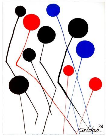 Литография Calder - Spanish refugee aid