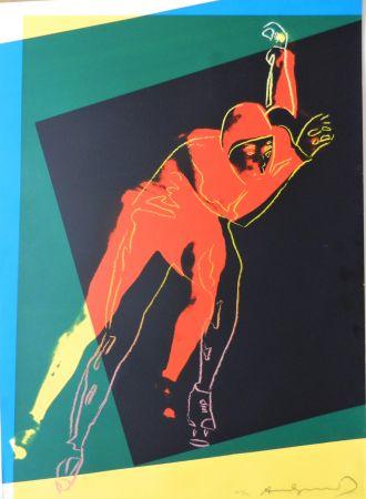 Сериграфия Warhol - Speed Skater