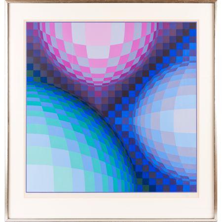 Сериграфия Vasarely - Spheres