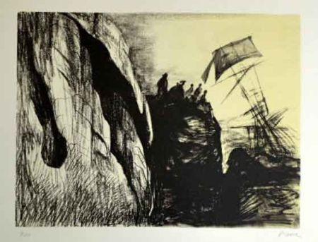 Литография Moore - Sphipwreck II