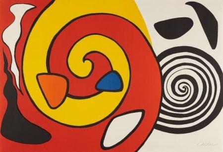 Литография Calder - Spirals And Forms