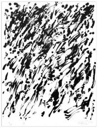 Литография Uecker - Spring I