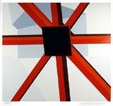 Сериграфия D'arcangelo - Squared Star
