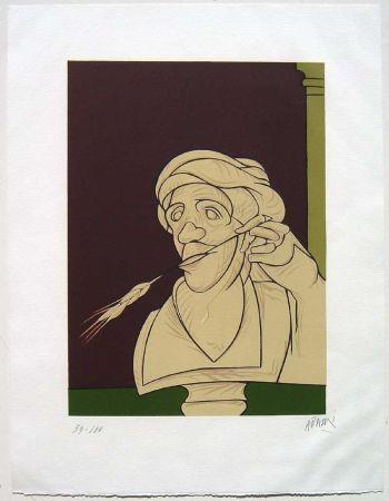 Литография Adami - Stèle