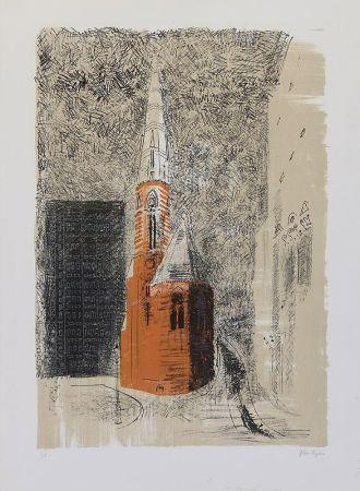 Литография Piper - St Mary's Paddington
