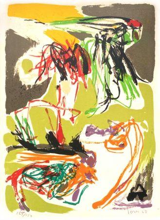 Литография Jorn - Stabisme Pastoral