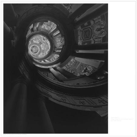 Литография Sugimoto - Staircase at Villa Farnese