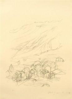 Литография Giacometti - Stampa