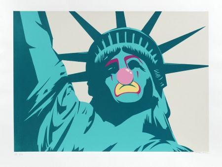 Сериграфия D-Face - Statue of Liberty