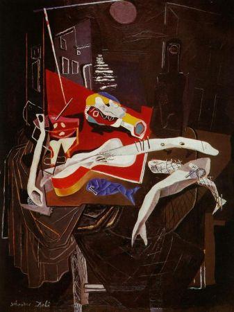 Многоэкземплярное Произведение Dali - Still Life By The Light of The Moon Tapestry