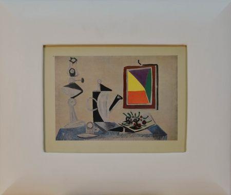 Литография Picasso - Still Life (Nature morte au miroir)