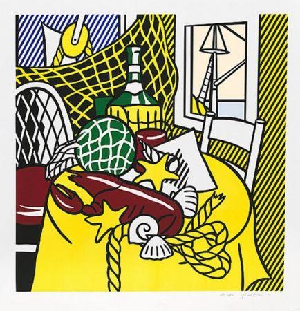 Сериграфия Lichtenstein - STILL LIFE WITH LOBSTER