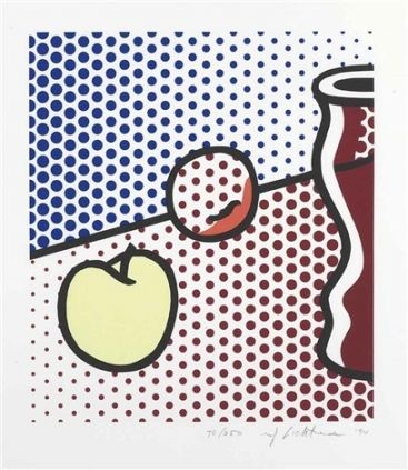 Сериграфия Lichtenstein - Still Life with Red Jar