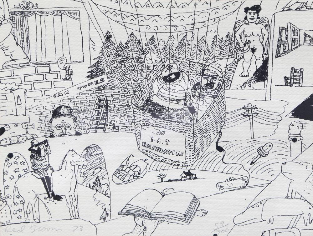 Сериграфия Grooms - Stockholm Print
