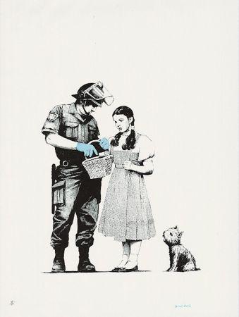 Сериграфия Banksy - Stop And Search