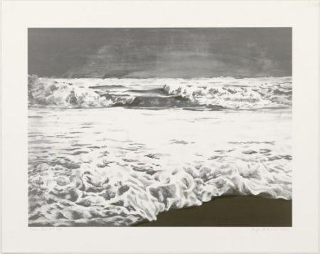 Литография Gornick - Storm sea