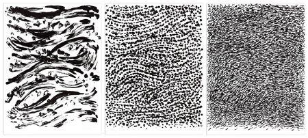 Литография Uecker - Strömung, 2010 - 3 Blätter