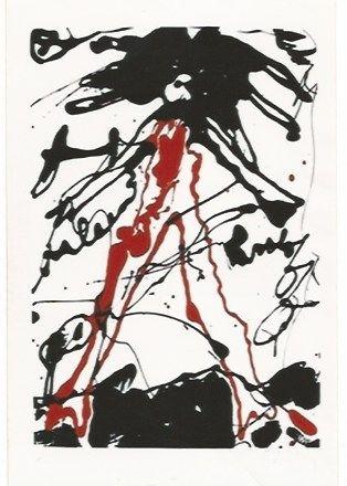 Сериграфия Oldenburg - Striding figure